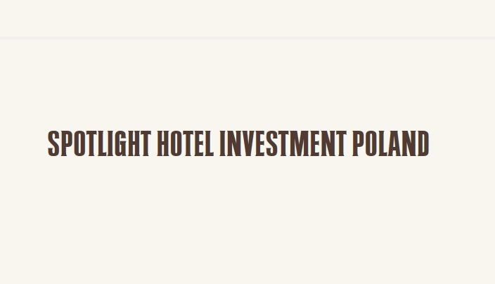 Konferencja Spotlight Hotel Investment Poland